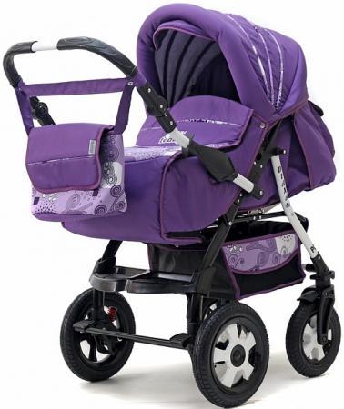 Фото - Коляска прогулочная Teddy BartPlast Diana 2016 PKLO (DD01/фиолетовый) коляска прогулочная everflo safari grey e 230 luxe