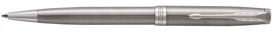 Шариковая ручка поворотная Parker Sonnet Core K526 Stainless Steel CT черный M 1931512 ручка шариковая паркер parker sonnet core k527 1931507 stainless steel gt m черные чернила подар кор