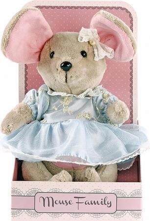 """Мягкая игрушка мышка Fluffy Family Вaby mouse """"Капелька"""" 25 см бежевый текстиль 681209 мягкая игрушка мышка fluffy family lady mouse"""