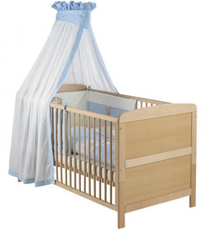 Кроватка-трансформер Geuther Pascal (натуральный-белый) geuther кровать трансформер pascal