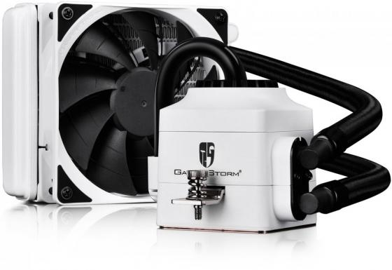 Водяное охлаждение Deepcool Captain 120 EX WHITE Socket 775/1150/1155/1156/1356/1366/2011/AM2/AM2+/AM3/AM3+/FM1/FM2/FM2+ водяное охлаждение deepcool captain 240 ex white dp gs h12l ct240w a4 intel lga20xx lga1366 lga115x amd am4 am3 am3 am2 am2 fm2 fm2 fm1