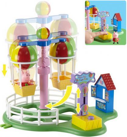 Игровой набор Peppa Pig Луна Парк  30401 набор игровой peppa pig 10 см