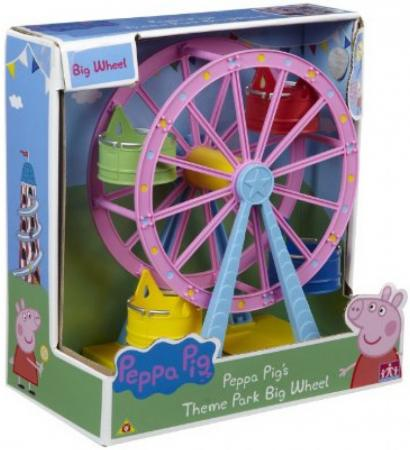 Колесо обозрения Peppa Pig Луна Парк 6 предметов  30400 peppa pig игровой набор колесо обозрения луна парк 30400