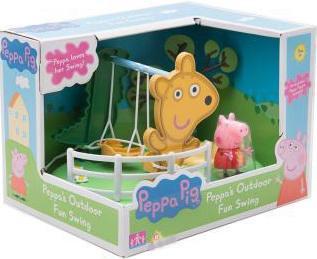 Игровой набор Peppa Pig Игровая площадка: Качели Peppa Pig 31608 конструктор big игровая площадка peppa pig 57076