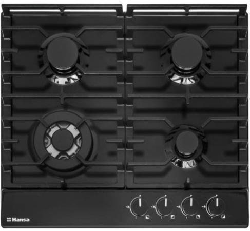 цена на Варочная панель газовая Hansa BHGS61139 черный