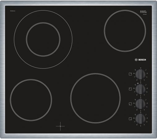 Варочная панель электрическая Bosch PKF645CA1E черный электрическая варочная панель teka tb 630