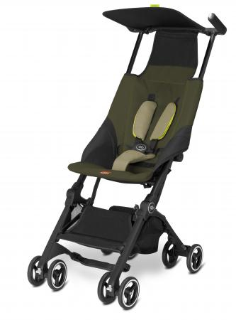 Прогулочная коляска GB Pockit (lizard khaki) gb коляска прогулочная beaula d620j1 gb черный