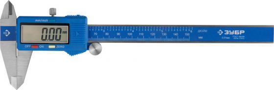 Штангенциркуль электронный Зубр Эксперт 34465-150 штангенциркуль электронный kraftool 34460 150