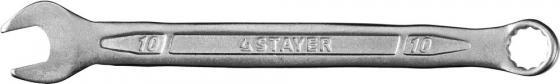 Ключ Stayer Profi гаечный комбинированный 27081-10 лента stayer profi клейкая противоскользящая 50мм х 5м 12270 50 05