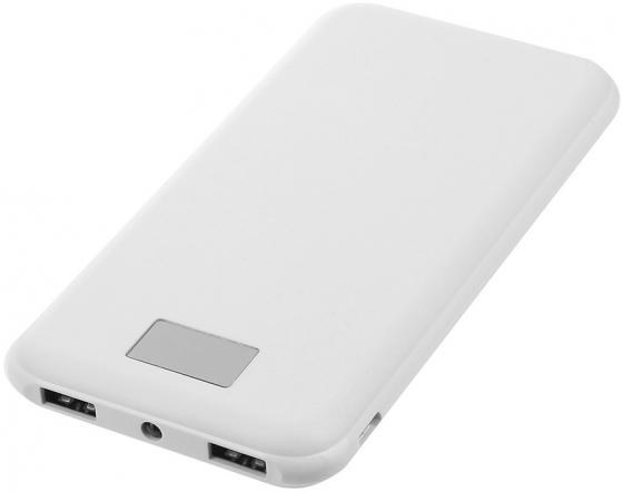 Портативное зарядное устройство Continent PWB80-262WT 8000мАч белый цена
