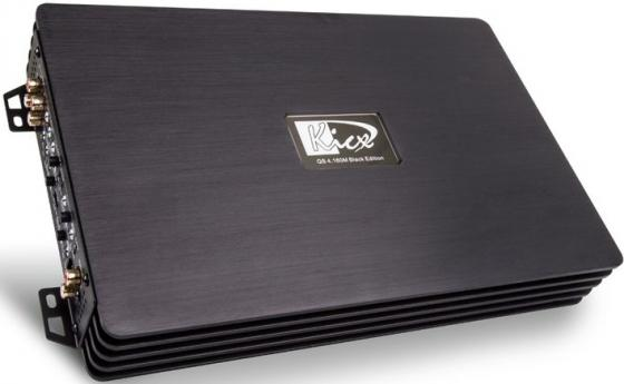 Усилитель звука Kicx QS 4.160M 4-канальный усилитель звука kicx bta 80 4 4 канальный 4x80 вт