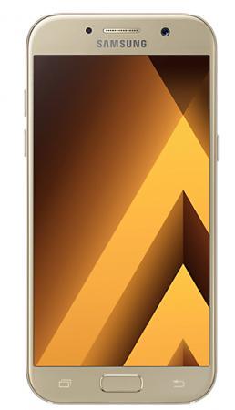 Смартфон Samsung Galaxy A5 Duos 2017 золотистый 5.2 32 Гб NFC LTE Wi-Fi GPS 3G SM-A520FZDDSER смартфоны samsung смартфон samsung galaxy s7 32 gb золотистый