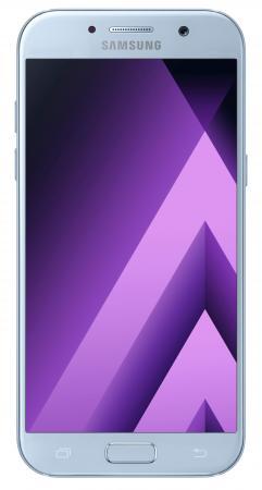 Смартфон Samsung Galaxy A5 Duos 2017 синий 5.2 32 Гб NFC LTE Wi-Fi GPS 3G SM-A520FZBDSER мобильный телефон samsung metro sm b350e duos black blue
