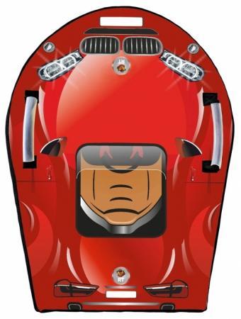 Ледянка RT SNOW AUTO LX6 до 150 кг ПВХ красный rt snow auto mini l 6018