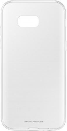 Чехол Samsung EF-QA520TTEGRU для Samsung Galaxy A5 2017 Clear Cover прозрачный samsung ef qa510czegru для galaxy a5 2016 clear cover pink gold