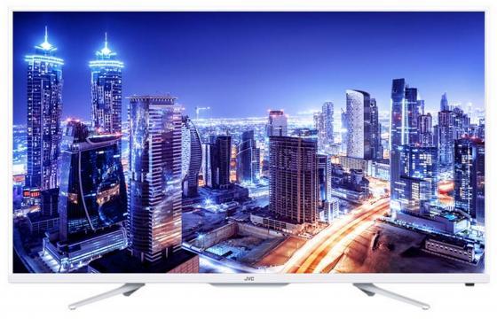 цена на Телевизор LED 32 JVC LT32M350W белый 1366x768 50 Гц USB VGA