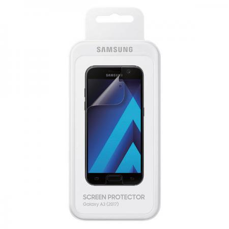 Пленка защитная прозрачная Samsung ET-FA320CTEGRU для Samsung Galaxy A3 2017 olto защитная пленка для samsung galaxy a3 2016 clear