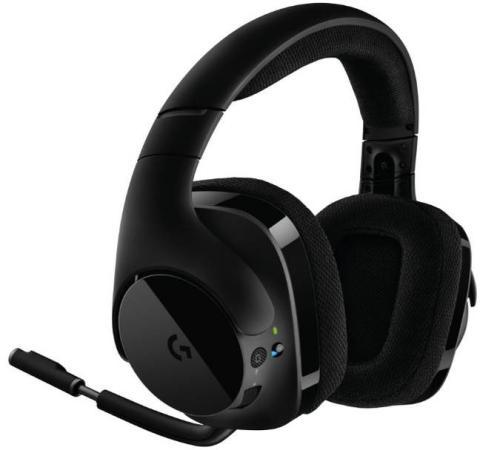 Гарнитура Logitech Headset G533 черный 981-000634 гарнитура logitech headset g533 черный 981 000634