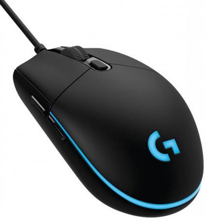 Мышь проводная Logitech G102 чёрный USB 910-004939 мышь проводная logitech g102