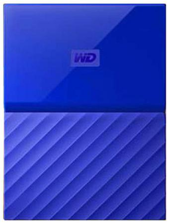 Внешний жесткий диск 2.5 USB3.0 4 Tb Western Digital My Passport WDBUAX0040BBL-EEUE синий my first eng adventure starter tb
