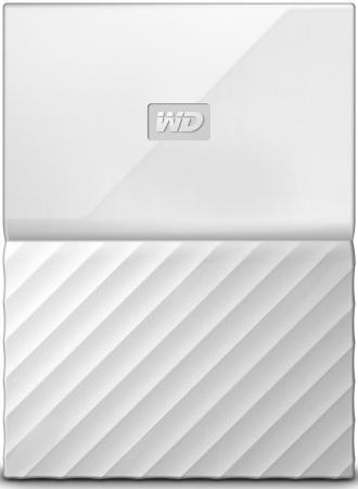 """Внешний жесткий диск 2.5"""" USB3.0 4 Tb Western Digital My Passport WDBUAX0040BWT-EEUE белый цена и фото"""