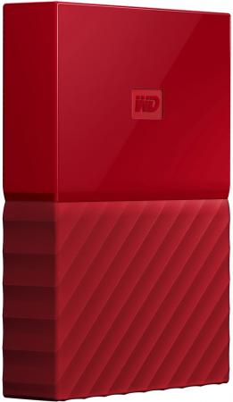 Внешний жесткий диск 2.5 USB3.0 4 Tb Western Digital My Passport WDBUAX0040BRD-EEUE красный my first eng adventure starter tb