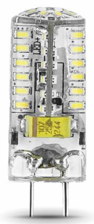 Лампа светодиодная GY6.35 3W 4100K колба прозрачная 107719203 gauss лампа светодиодная gauss капсула прозрачная g4 3w 12v 4100k 207707203