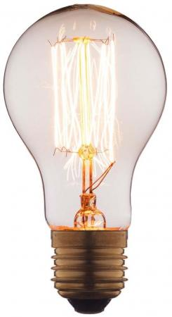 Лампа накаливания E27 40W груша прозрачная 1003-T loft it лампа накаливания loft it груша прозрачная e27 40w 7540 t