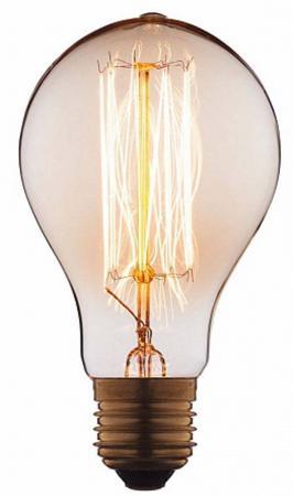 Лампа накаливания E27 40W груша прозрачная 7540-SC loft it лампа накаливания loft it груша прозрачная e27 40w 7540 t