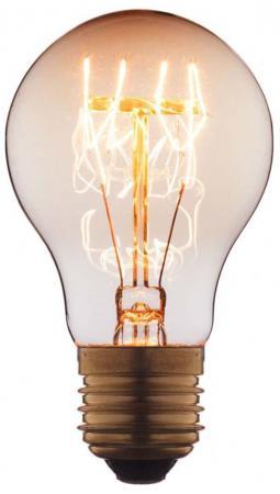 Лампа накаливания E27 40W груша прозрачная 7540-T loft it лампа накаливания loft it груша прозрачная e27 40w 7540 t