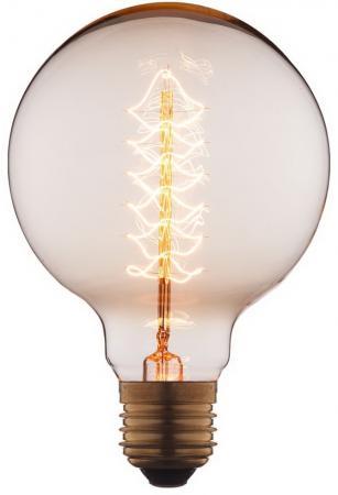 Лампа накаливания шар Loft IT G9540 E27 40W loft it лампа накаливания loft it шар прозрачная e27 40w g9540