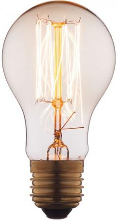 Лампа накаливания E27 60W груша прозрачная 1004-T цена и фото