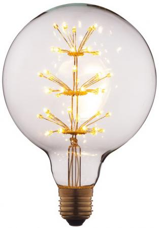 Лампа светодиодная E27 3W шар прозрачный G12547LED светодиодная лампа loft it st64 47led