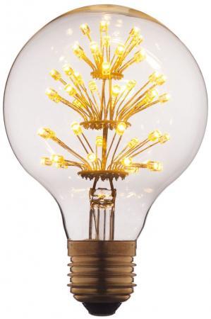 Лампа светодиодная E27 3W шар прозрачный G8047LED одежда для мужчин
