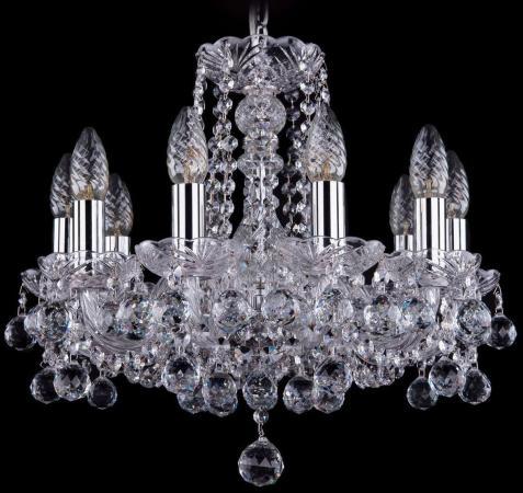 Подвесная люстра Bohemia Ivele 1402/10/141/Ni/Balls bohemia ivele crystal подвесная люстра bohemia ivele 1402 8 160 ni balls