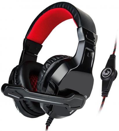 все цены на Гарнитура Marvo H8329 черно-красный