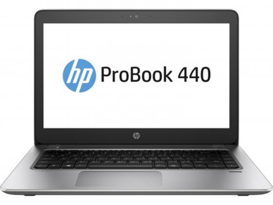 Ноутбук HP ProBook 440 G4 14 1366x768 Intel Core i5-7200U 500 Gb 4Gb Intel HD Graphics 620 серебристый DOS Y7Z85EA ноутбук hp 15 bs027ur 1zj93ea core i3 6006u 4gb 500gb 15 6 dvd dos black