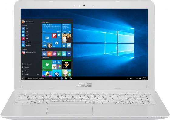 Ноутбук ASUS X556UQ-XO769T 15.6 1366x768 Intel Core i5-7200U 1 Tb 4Gb nVidia GeForce GT 940M 2048 Мб белый Windows 10 Home 90NB0BH5-M09660 ноутбук lenovo deapad 310 15 6 1920x1080 intel core i3 6100u 500gb 4gb nvidia geforce gt 920mx 2048 мб серебристый windows 10 80sm00vqrk