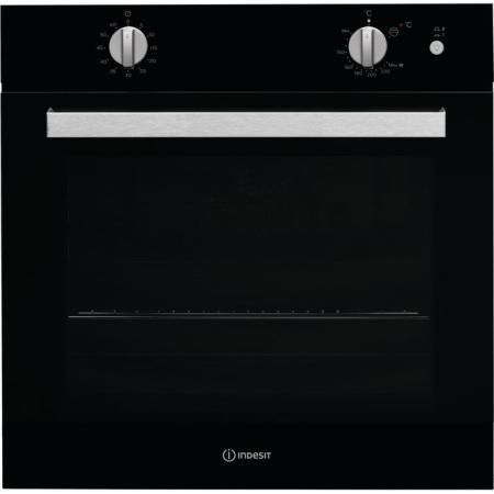 лучшая цена Газовый шкаф Indesit IGW 620 BL черный