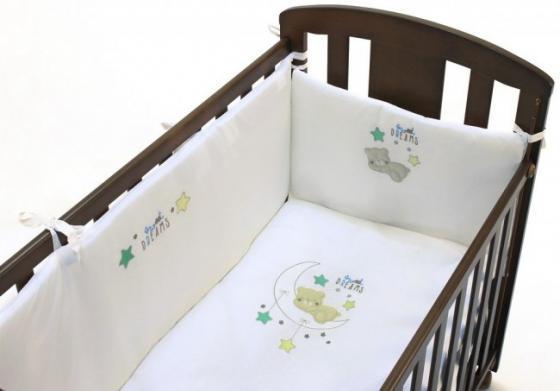 где купить Сменное постельное белье 3 предмета Fiorellino Sweet Dreams по лучшей цене