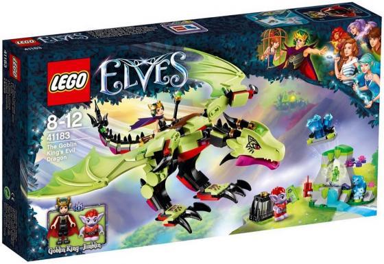 Конструктор LEGO Elves: Дракон Короля Гоблинов 339 элементов 41183 lego конструктор эльфы дракон короля гоблинов