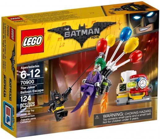 Конструктор LEGO Побег Джокера на воздушном шаре 124 элемента конструктор lego batman movie побег джокера на воздушном шаре 70900