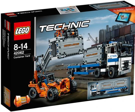 Конструктор LEGO Technic: Контейнерный терминал 631 элемент 42062 lego technic 42031 ремонтный автокран