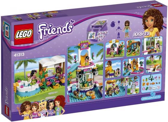 Конструктор LEGO Friends Летний бассейн 589 элементов 41313