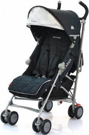 Коляска-трость Maclaren Quest Sport (style set black crest) коляска трость maclaren quest макларен квэст linen black wm1y041522