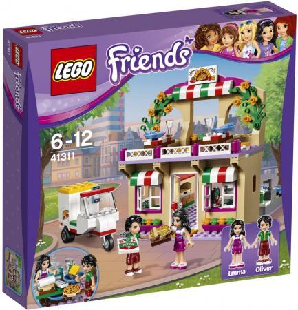 Конструктор LEGO Friends: Пиццерия 289 элементов 41311 lego friends выставка щенков игровая площадка