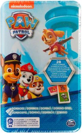 Настольная игра Paw Patrol Домино 28 предметов 6033087 игровой набор paw patrol два щенка в домике 16660 mar