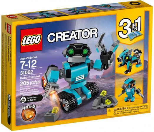 Конструктор LEGO Creator: Робот-исследователь 205 элементов 31062 lego lego creator 31031 животные джунглей