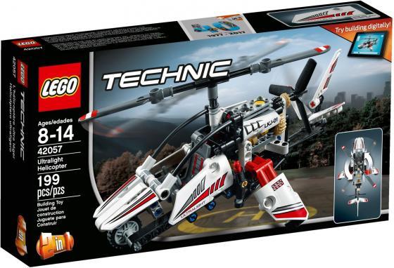 Конструктор LEGO Technic: Сверхлёгкий вертолёт 199 элементов 42057 йошихито исогава большая книга идей lego technic машины и механизмы
