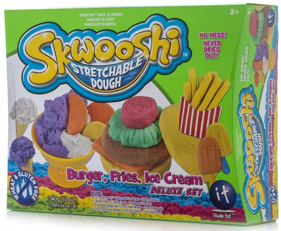 Набор для творчества Skwooshi Бургер/ Мороженое S30101 набор для творчества skwooshi бургер мороженое делюкс масса для лепки и аксессуары 340 гр
